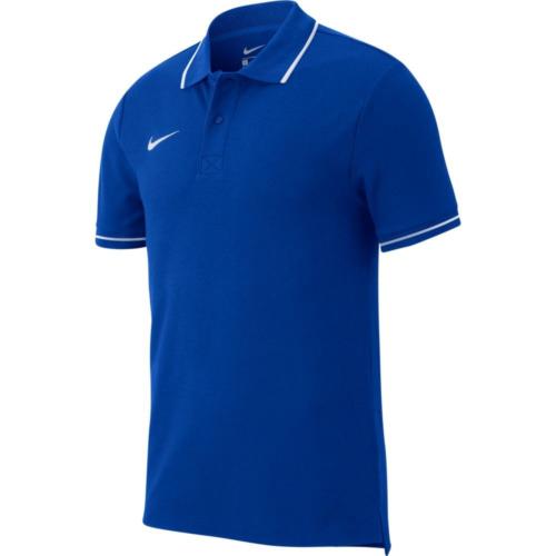 Polo bleu royal Club 19