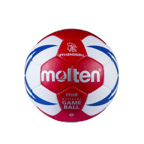 Ballon Competition Ffhb Hx5001 T2blanc/rouge/gold