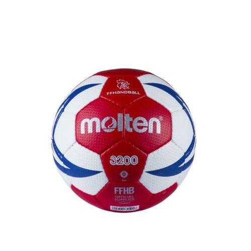 Ballon Entrainement Ffhb Hx3200 T0rouge/blanc/roy