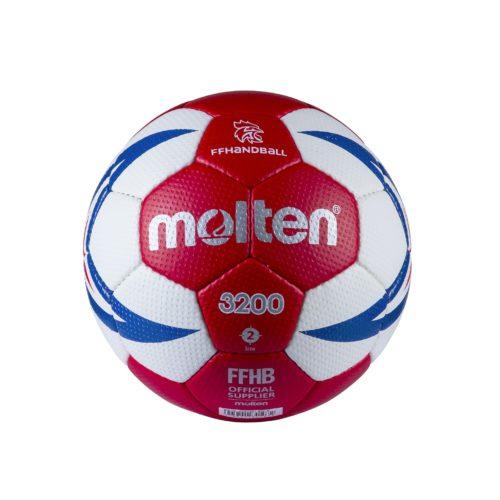 Ballon Entrainement Ffhb Hx3200 T2rouge/blanc/roy