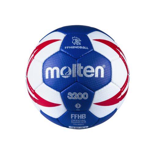 Ballon Entrainement Ffhb Hx3200 T3roy/rouge/blanc