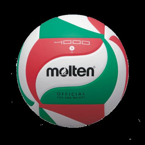 Ballon Competition V5m4000blanc/rouge/vert