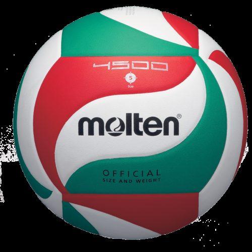 Ballon Competition V5m4500blanc/rouge/vert