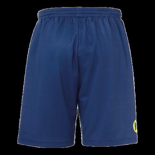 Short Curve bleu profond/jaune fluo