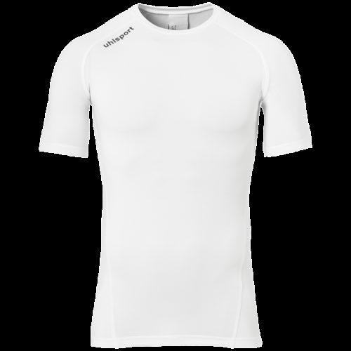 PRO BASELAYER ROUND NECK manches courtes blanc