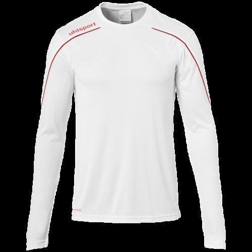 MAILLOT manches longues blanc/rouge
