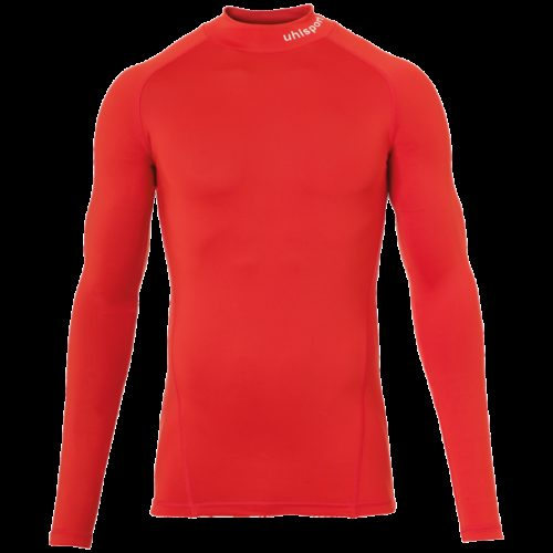 PRO BASELAYER TURTLE NECK manches longues rouge