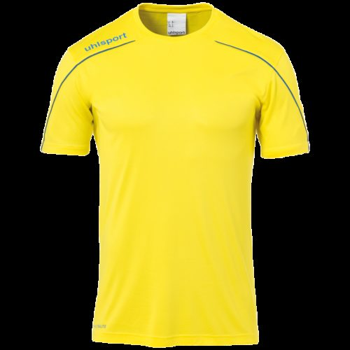 MAILLOT manches courtes jaune/azur
