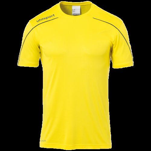 MAILLOT manches courtes jaune/noir