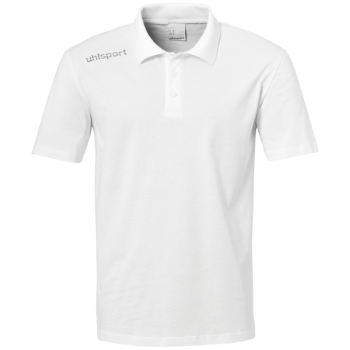 ESSENTIAL Polo blanc