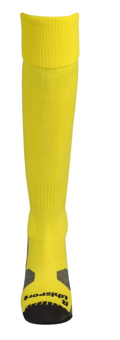 TEAM PERFORMANCE CHAUSSETTES jaune lime/noir
