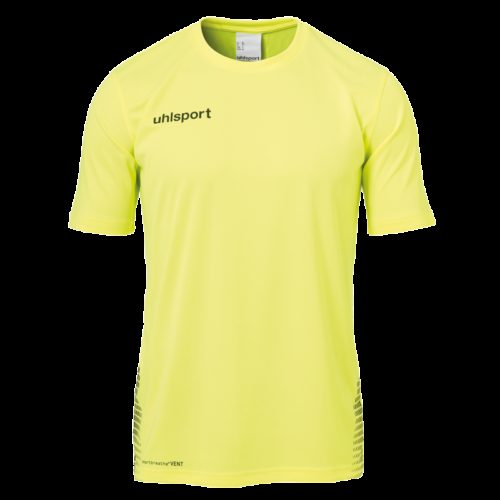SCORE TRAINING T-SHIRT jaune fluo/noir