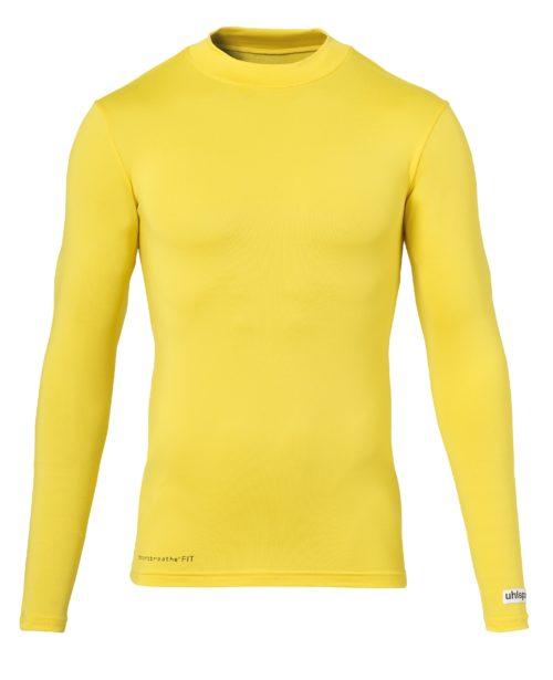 DINSTINCTION COLORS BASELAYER manches longues jaune