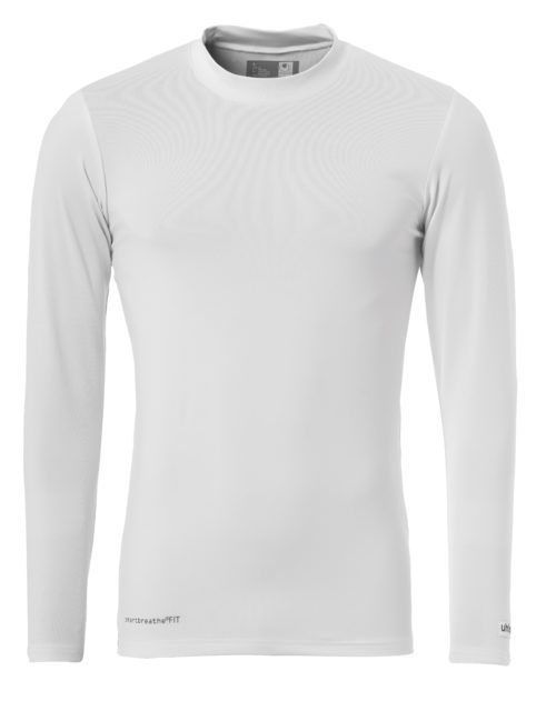 DINSTINCTION COLORS BASELAYER manches longues blanc