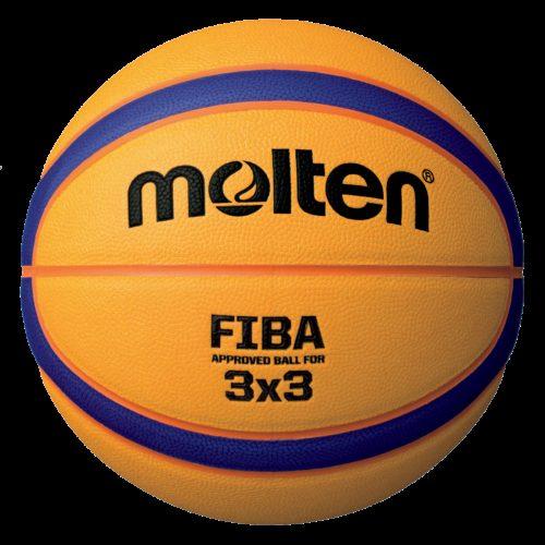 Ballon 3x3 Street B33t5000 jaune/violet