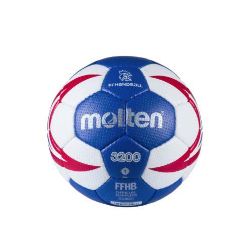 Ballon Entrainement Ffhb Hx3200 T1roy/blanc/rouge