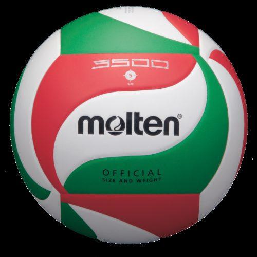 Ballon Entrainement V5m3500blanc/rouge/vert