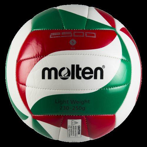 Ballon Entrainement V5m2501-lblanc/rouge/vert