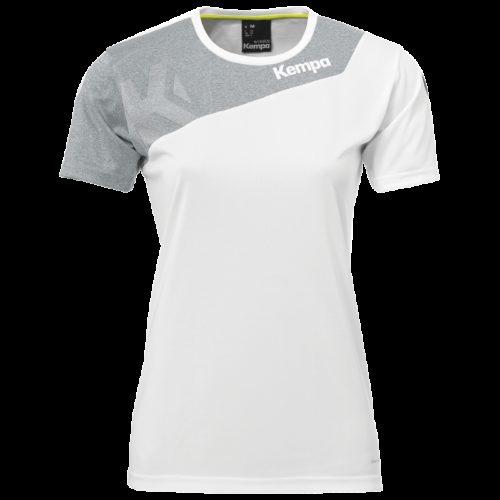 Maillot Femme Core 2.0 blanc/gris foncé chiné